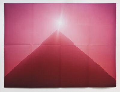 Jack Pierson, '(Pyramid, Pink) ', 2010
