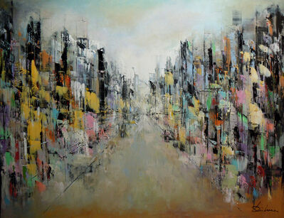 Richard DUBURE, 'BUTTERFLY STREET', 2018