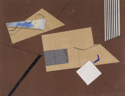 "Eileen Gray, '""Bobadilla"" Study for a Rug Design', circa 1925"