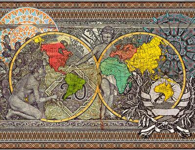 MALALA ANDRIALAVIDRAZANA, 'Figures 1799, Explorers' routes ', 2015