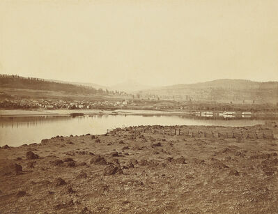 Carleton E. Watkins, 'The Dalles, Oregon, from Rockland, Washington Territory', 1867