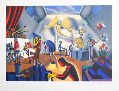 Mark Kostabi, 'The Big Picture, 2002, by Mark Kostabi', 2002