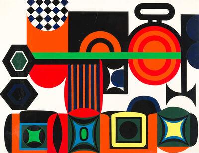 "Jean Dewasne, '""Coeur scellé""', 1972"