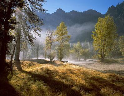 David G. Peterson, 'Rising Mist, Autumn, Yosemite Valley (framed)', 2003