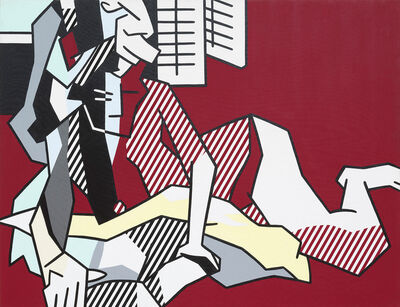 Roy Lichtenstein, 'Woman Reading', 1980