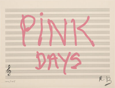 Louise Bourgeois, 'Pink Days (MoMA 149.1)', 2008