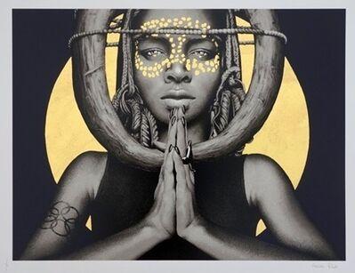 Fin Dac, 'Sun Goddess I (Gold Leaf)', 2018