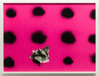 Sadie Barnette, 'Untitled (Dollar on pink)', 2019