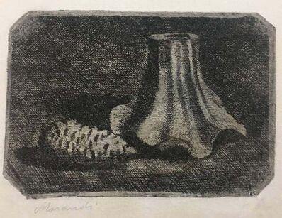 Giorgio Morandi, 'Natura morta con pigna e frammento di vaso', 1922