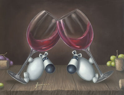 Peter Smith, 'Sip, Sip, Hooray!!', 2018