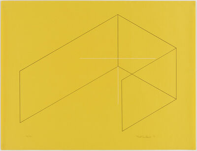 Fred Sandback, 'Untitled (Jahn #1, Estate #3015)', 1970