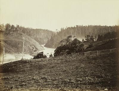 Carleton E. Watkins, 'Albion River, Mendocino Co. Cal.', 1863