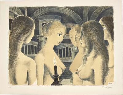 Paul Delvaux, 'La Voûte (The Vault)', 1973