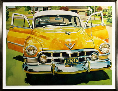Bruce McCombs, 'Yellow Cadillac', 1994