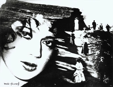 Mario Giacomelli, 'Montage of Woman's Face and Peasants', 1950s/1970s