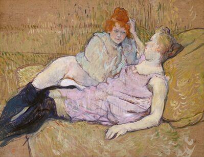 Henri de Toulouse-Lautrec, 'The Sofa', ca. 1894–1896