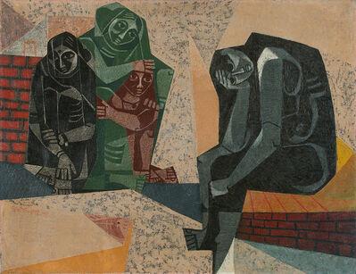 Jyoti Bhatt, 'Problem', 1956