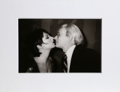 Christopher Makos, 'With Liza Minelli (Warhol: Ten Images)', 1978 (Printed in 1989)
