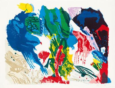 Max Weiler, 'Farbig die Erde', 1991