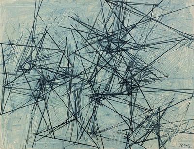 Lenz Klotz, 'Immer wieder kreuzen', 1960