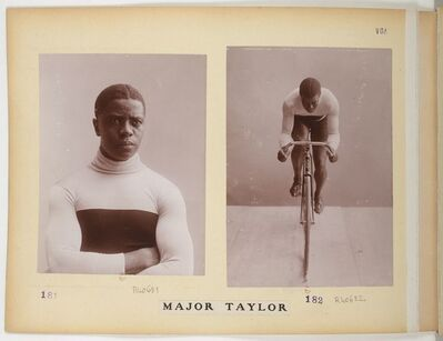 Jules Beau, 'Major Taylor in the Collection Jules Beau, Photographie Sportive ', 1906-1907