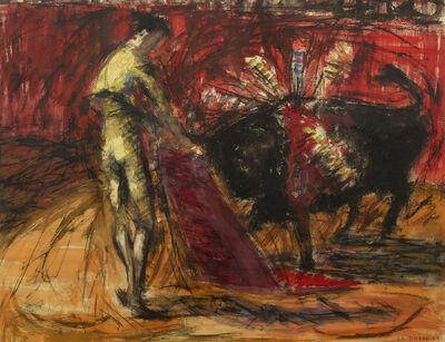 Franklin Drake, 'Bullfight', 1954