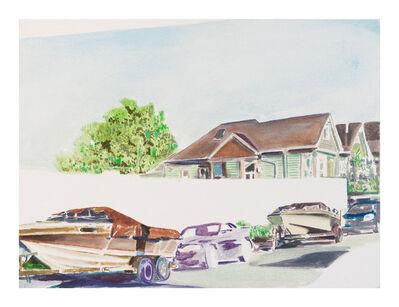 Nathaniel Parsons, 'Street Boats 4', 2017