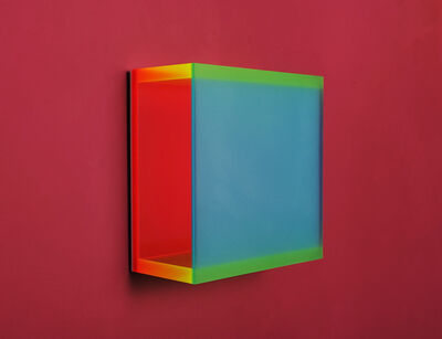 Regine Schumann, 'color mirror small satin laguna', 2014