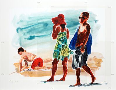 Eric Fischl, 'Untitled (Man, Woman and a Boy)', 2018