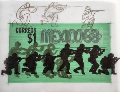 Humberto Márquez, 'Bocetos timbres,', 1968