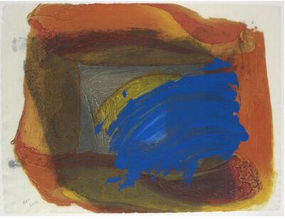 Howard Hodgkin, 'Eclipse', 2016-17