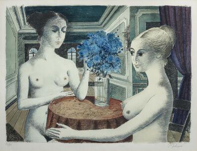 Paul Delvaux, 'Le Silence', 1972
