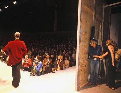 Harry Benson, 'Ralph Lauren Backstage', 1983