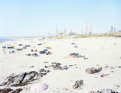 Massimo Vitali, 'Praia do A terro Galp Matosinhos', 2016