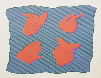 Maria Lassnig, 'Gruppensex', 1969