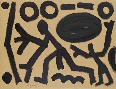 A.R. Penck, 'Standart at Roma IV', 1990