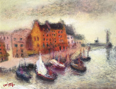 Jean Volang, 'Breton Harbour', 1921