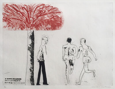 David Hockney, 'The Seven Stone Weakling', 1961