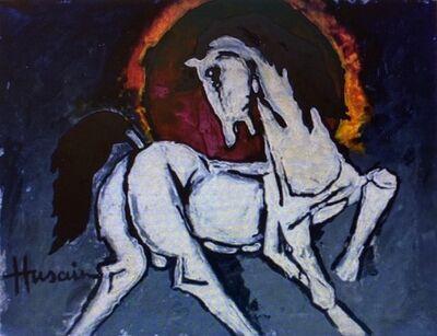 M. F. Husain, 'Horse', 1980