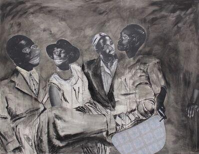 Neo Matloga, 'Ka morago a kgwedi', 2017