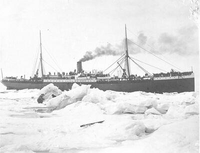 Beverly Bennett Dobbs, 'Ship in Ice Flow', 1903-1906