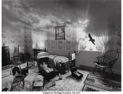 Jerry Uelsmann, 'Untitled (Room)', 1981