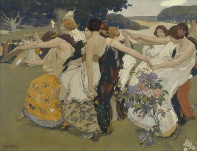 Arthur Frank Mathews, 'Youth', ca. 1917
