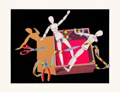 Liao Shiou-Ping, 'Manikin#86-2', 1986