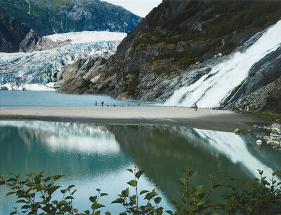 Catherine Opie, 'Mendenhall Glacier and Waterfall', 2007