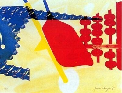 James Rosenquist, 'Whipped Butter for Eugene Ruchin', 1965