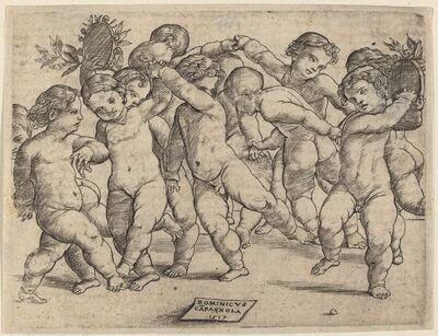 Domenico Campagnola, 'Twelve Children Dancing', 1517
