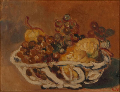 Louis Valtat, 'Basket of Fruit'