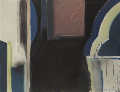 Albert Ràfols-Casamada, 'Central window', 1972