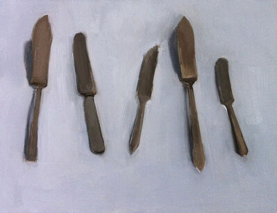 Carrie Mae Smith, 'Five Butter Knives'